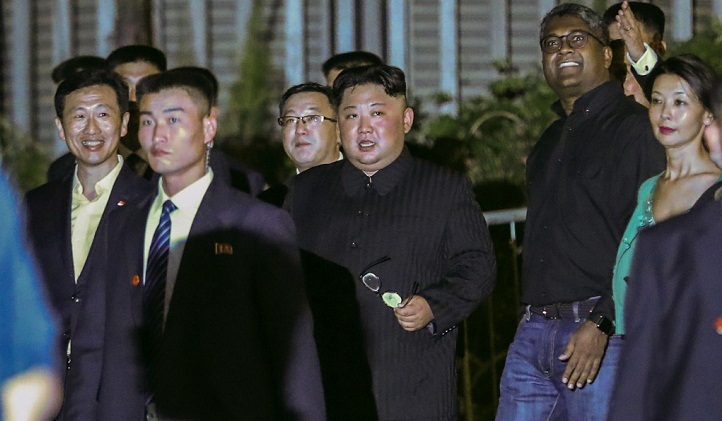 Kim takes night tour of Singapore ahead of summit with Trump