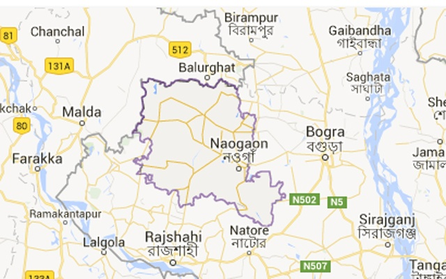 Man, granddaughter killed in Naogaon road accident