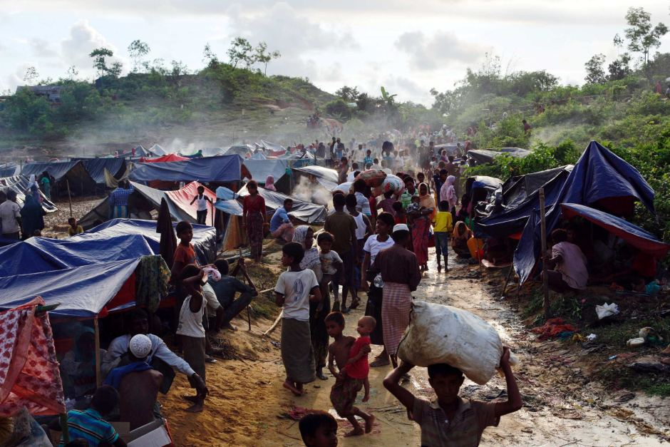 Heavy rains hit Rohingya camps; cause structural damages: IOM
