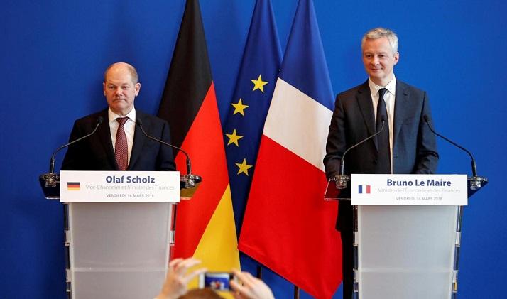 France, Germany near roadmap on EU taxes: minister