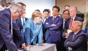 G7 leaders during a meeting