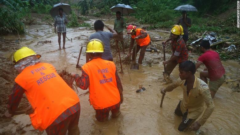 11 killed in Rangamati, Cox's Bazar landslides