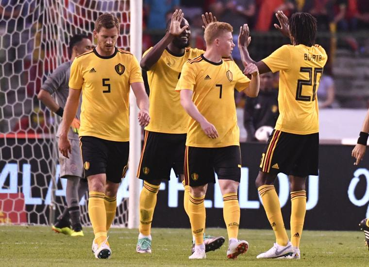 Lukaku on target again as Belgium demolishes Costa Rica 4-1