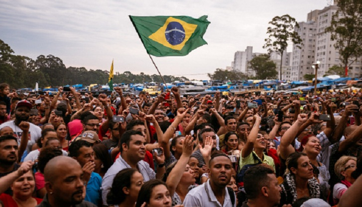More than half of Brazilians don't care about World Cup: poll