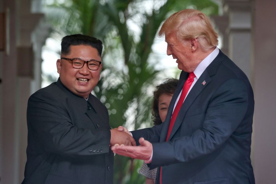 Trump says he will stop 'war games' with South Korea