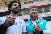 Salah meeting with Chechen leader raises red flags