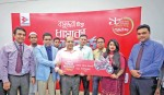Bashundhara Tissue distributes prises among scratch  card winners