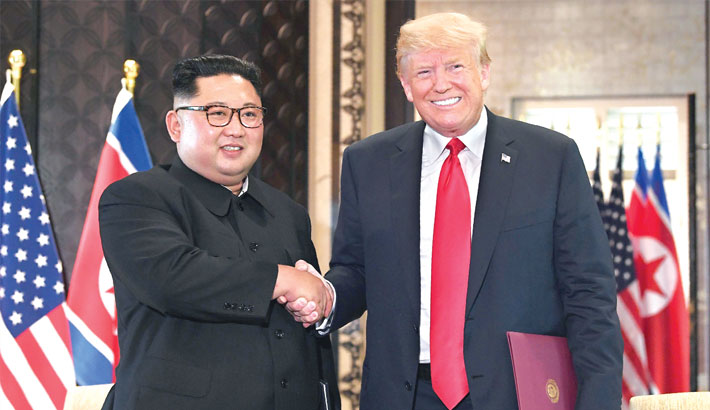 Trump, Kim agree on denuclearisation