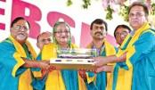 Sheikh Hasina and Her DLitt