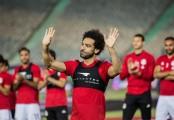 Salah joins Egypt training session