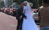 Love-struck couple crosses globe taking wedding pics in every country