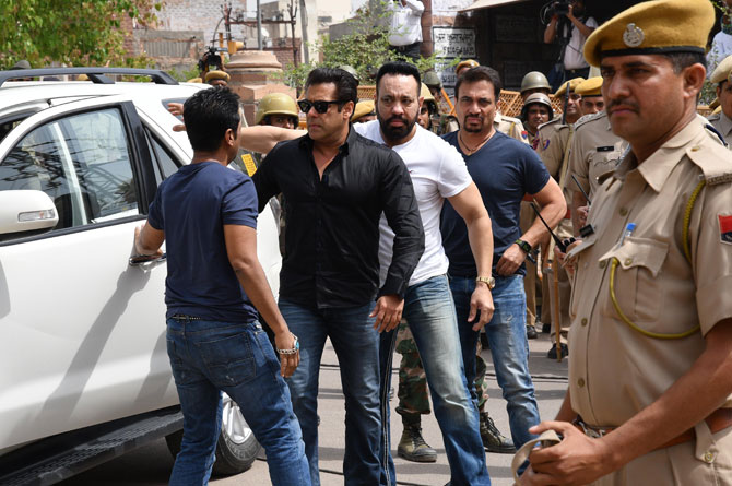 Police beef up security for Salman Khan