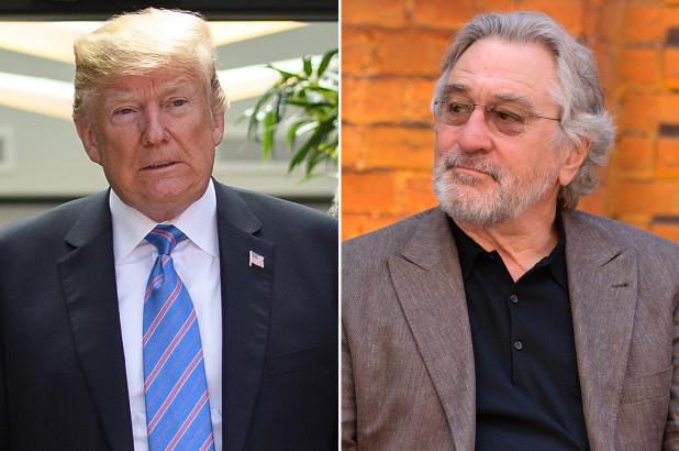 Trump slams actor Robert De Niro