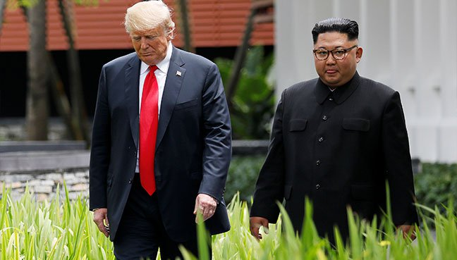 Trump-Kim summit: Pentagon remains 'ironclad' after war games cancelled