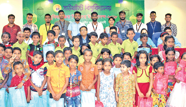 SEU shares Eid happiness with orphans