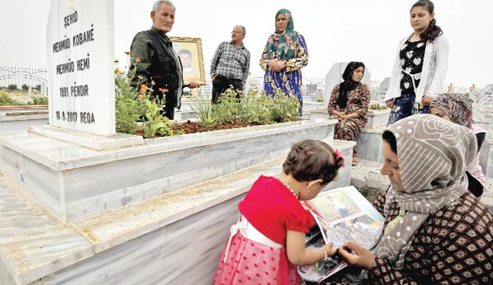 Syrian Kurds visit on May 28