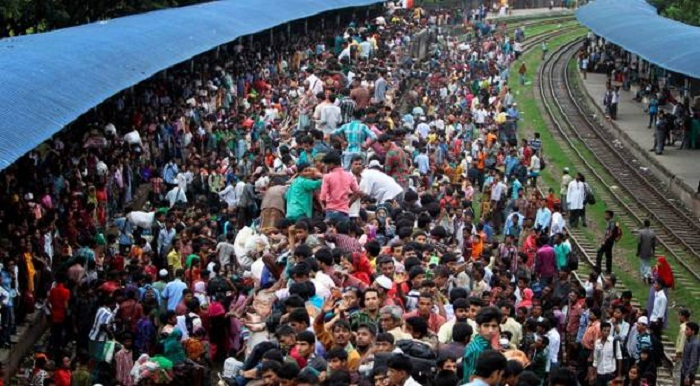 Mass exodus from Dhaka continues ahead of Eid