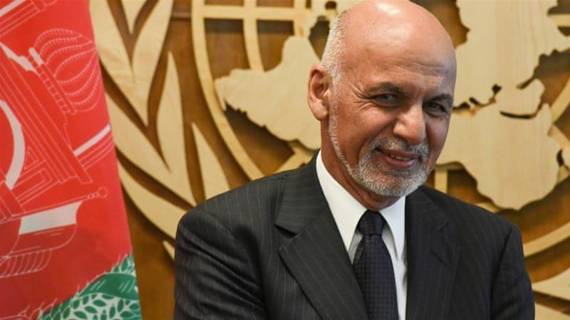 Afghan president touts cease-fire in Eid address