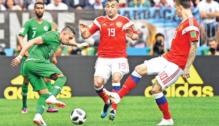 FIFA World Cup 2018 Group A match