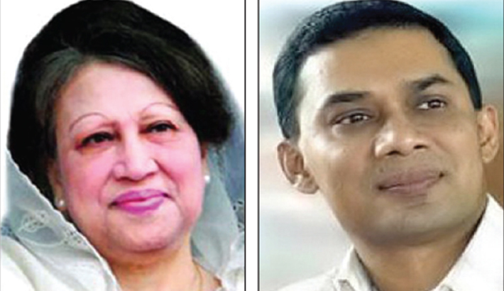 Khaleda to celebrate Eid in jail, Tarique in London
