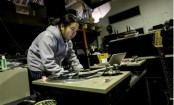 'Funky' Japan monk gets grannies in a spin
