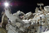 International Space Station outfitted with high-def cameras