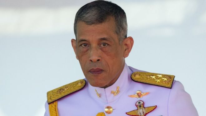 Thai king takes control of some $30bn crown assets