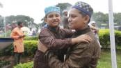 Eid-ul-Fitr being celebrated