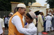 Eid-ul-Fitr celebrated