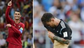 Ronaldo 1 Messi 0 in World Cup duel
