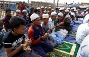 Rohingyas mark first Eid since Myanmar crackdown