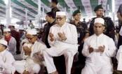 President offers Eid prayers at National Eidgah