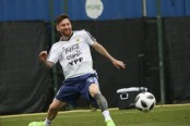 Messi, the superstar illuminating a small Russian town