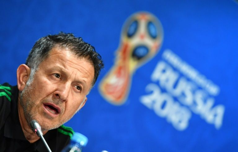 Mexico coach vows to go 'head to head' with Germany