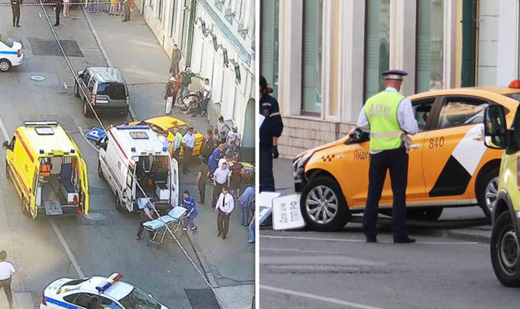 8 Injured as taxi hits pedestrians in Moscow