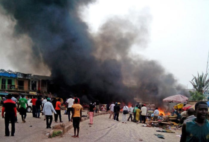 Suicide blasts in NE Nigeria kill at least 31