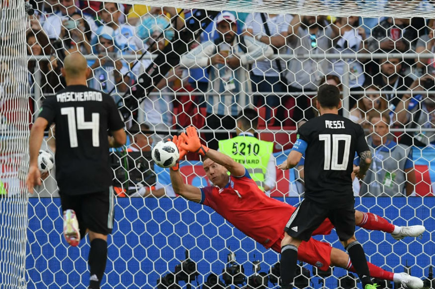 Iceland's hero keeper did homework to psych out Messi