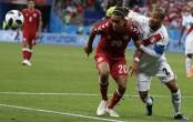 Denmark beat Peru 1-0 in World Cup