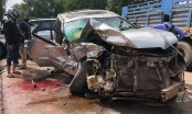 Former Cambodian PM hurt, wife killed in car crash