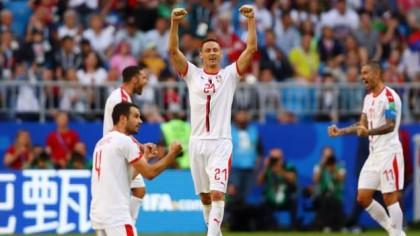Serbia beat Costa Rica through Kolarov free-kick