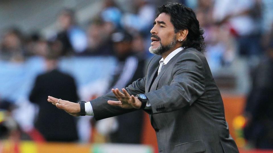 Argentina are a disgrace: Diego Maradona