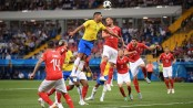 Brazil held 1-1 by Switzerland in World Cup