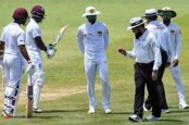 Chandimal denies 'sweet in pocket' ball tampering as Sri Lanka pile on runs