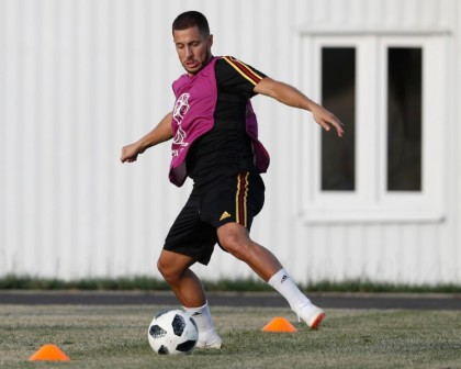 Hazard ready to make mark on World Cup, says Martinez