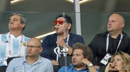 Maradona pours scorn on Argentina coach after Iceland draw