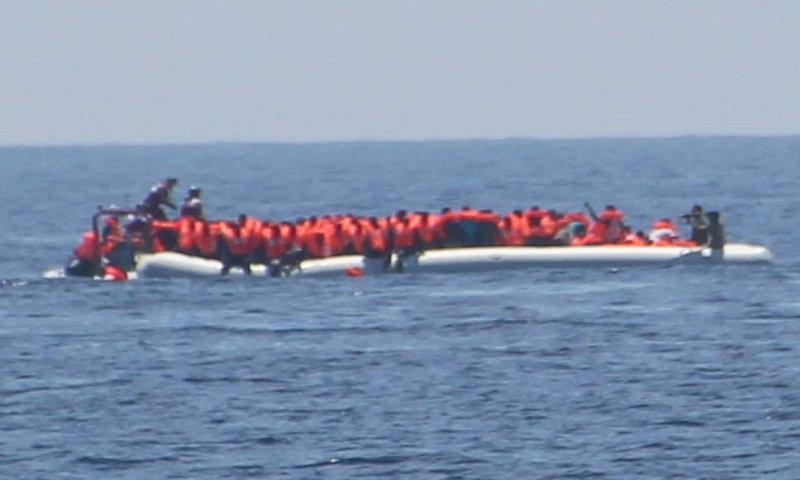 Libyan coast guard rescues 186 migrants, recovers 5 bodies