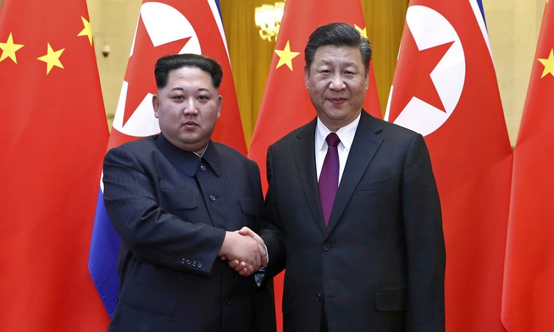 China says North Korean leader Kim Jong Un visits Beijing