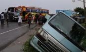 JCD leader killed as bus hits BNP leader Mosharraf 's motorcade
