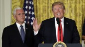 US 'will not be a migrant camp': Trump