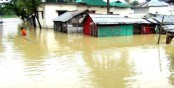 Thousands marooned in Sylhet flood